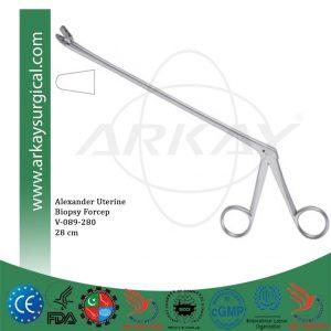 Alexander Uterine Biopsy Forcep