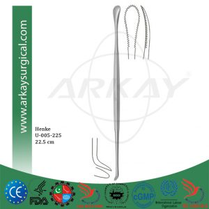 Henke Tonsil Knife Dissector