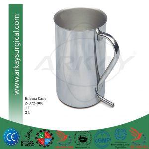 Enema Cane Jar