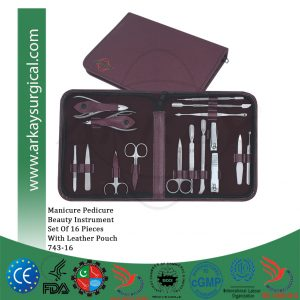 Manicure pedicure Set
