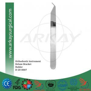 Orthodontics instrument deluxe bracket holder tweezer